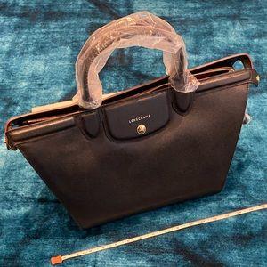 Longchamp Le Pliage Heritage Leather Handbag